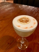 tequila sour, The Four Seasons Resort & Residences, Whistler