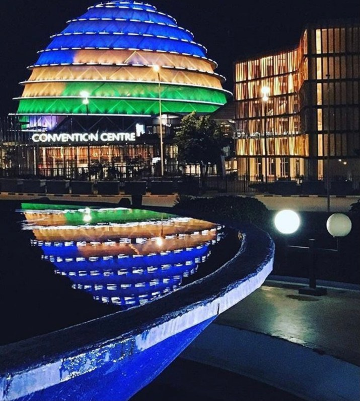 The convention center Kigali