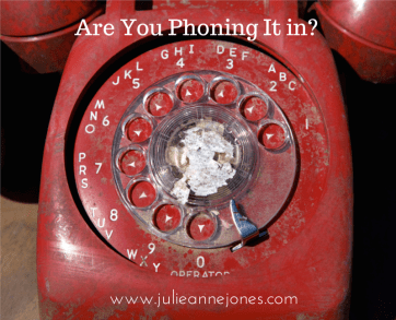 phoning-it-in