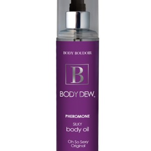 Body Dew Silky Body Oil with Pheromones - 8 oz Original 6769-02