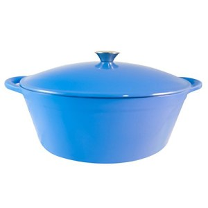 France Blue Oval Dutch Oven 7 Quarts FC-B32DFBBE