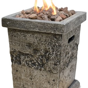 Blue Rhino LP GAS OUTDOOR FIRE COLUMN - SMALL GLT17333SP