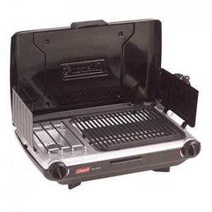 Coleman 2 Burner Grill Stove Combo Black 2000020929 MNA-765657