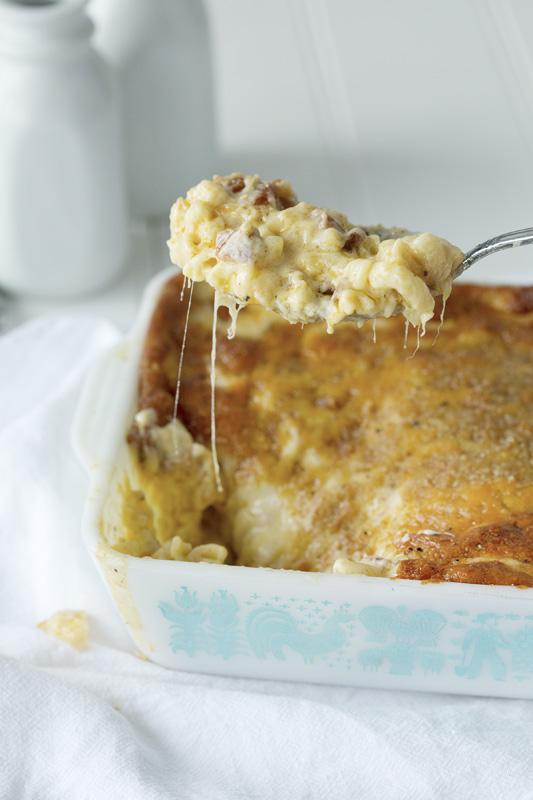 Macaronis au fromage fondant