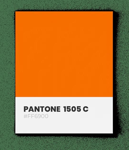 PantonePantone-1505C