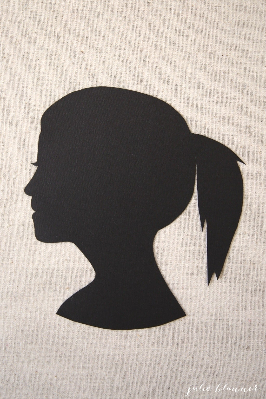 How To Make A Silhouette Portrait