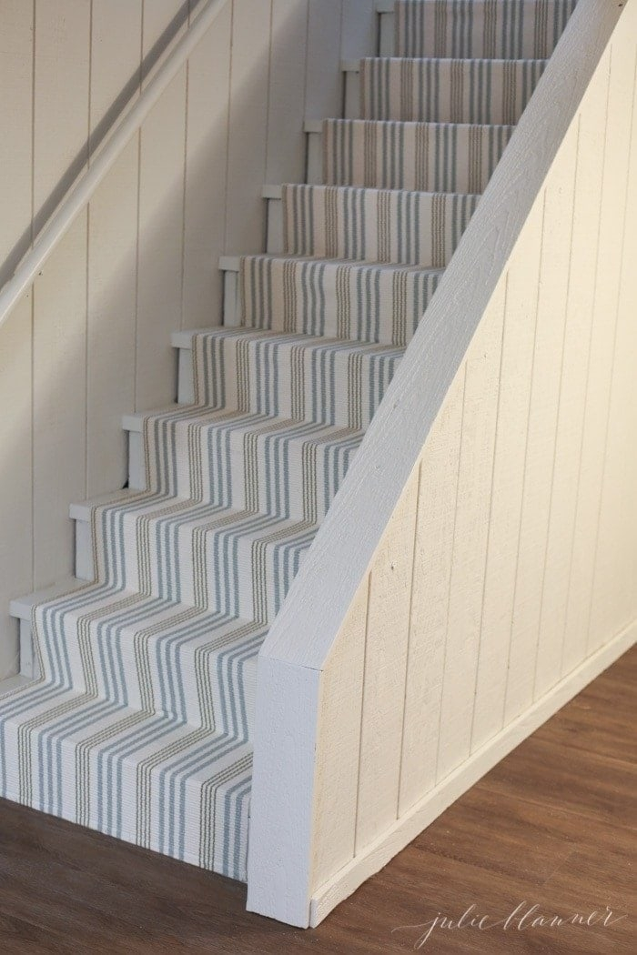 How To Redo Basement Stairs On A Budget With Indoor Outdoor Stair | Best Carpet For Basement Stairs | Patterned Carpet | Bob Vila | Carpet Runners | Staircase Runner | Hallway