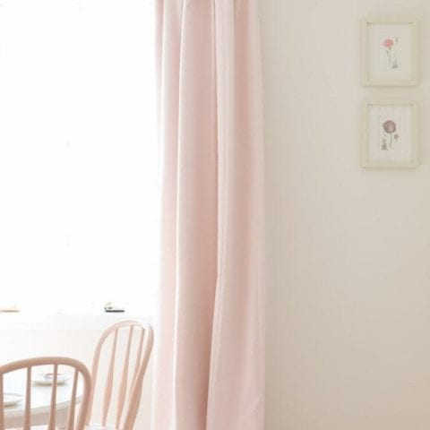 how to hang curtains to look like