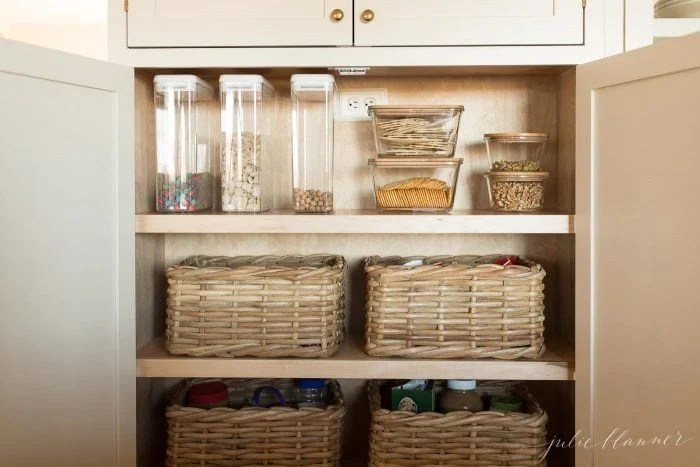 Kitchen Pantry How To Organize Your Pantry Cabinet Julie Blanner