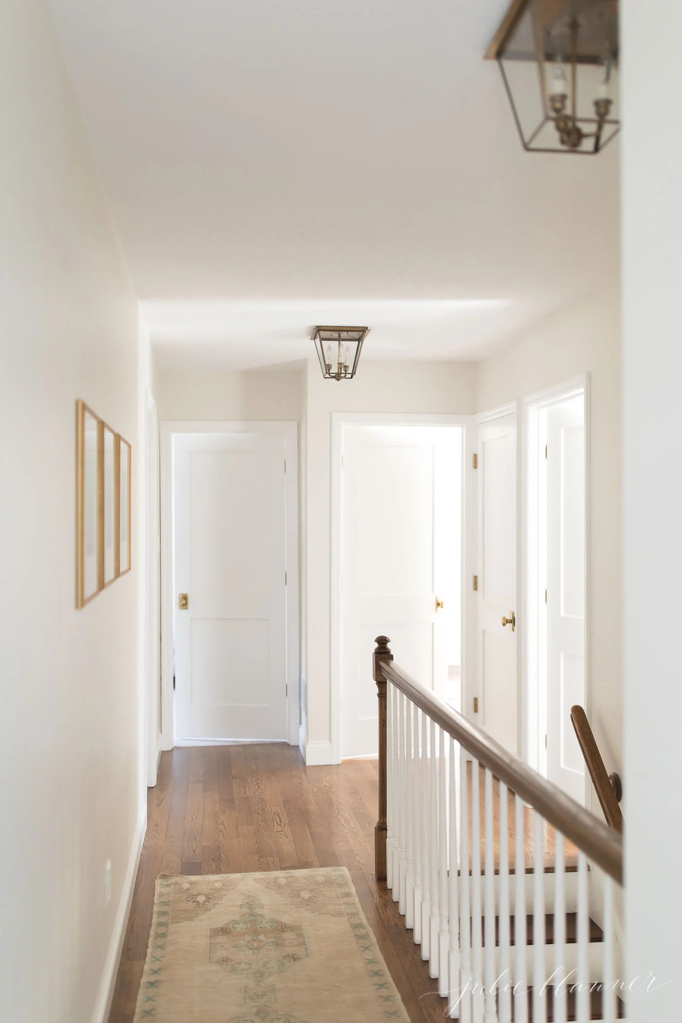 small hallway design and decorating