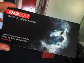 Karte FMX2017 - Illustration by Julie Boehm ART, producer Lena Lohfink, Filmakademie Baden-Württemberg