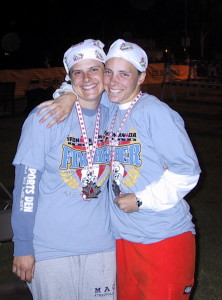 Me and my BFF Lee-Anne after IM Canada 2003