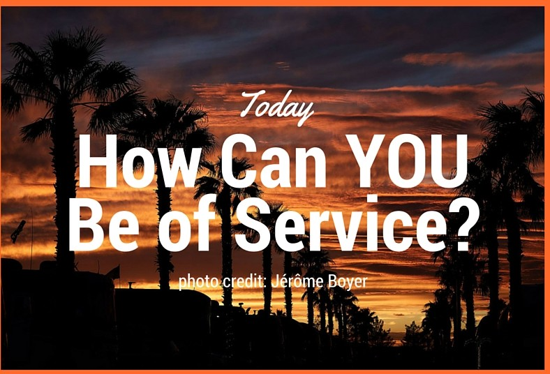Make Being of Service Your Gift