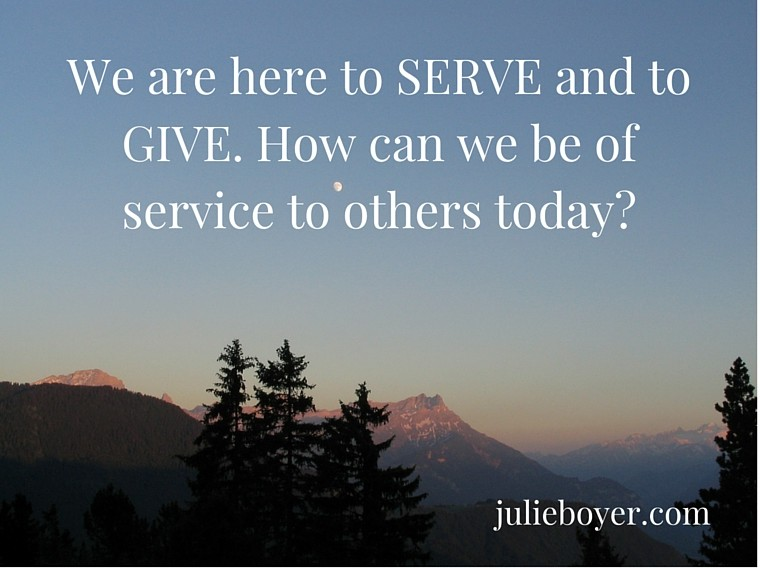 You Are Serving with Your Gifts