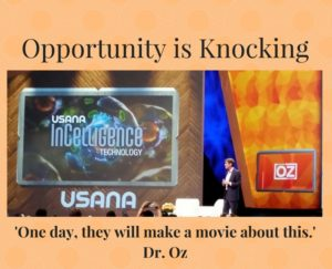 opportunity is knocking