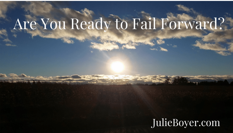 Are You Ready to Fail Forward?