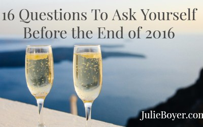 16 Questions To Ask Yourself Before The End of 2016