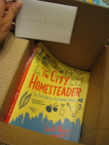 city homesteader