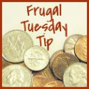 Frugal  Tuesday Tip button
