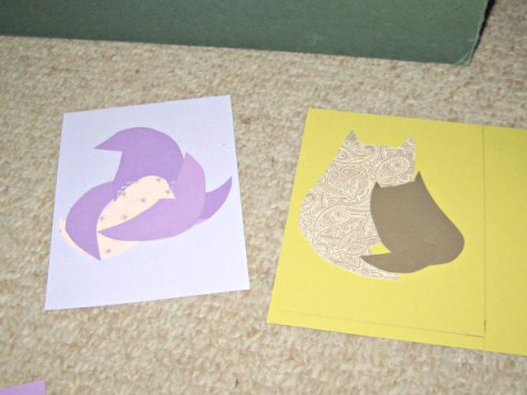 momma bird card making