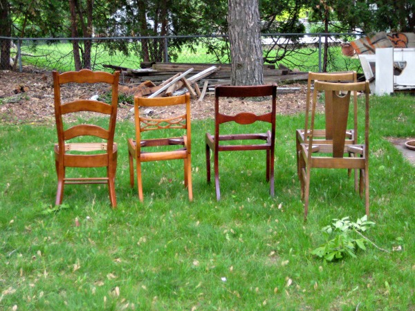 dining room chairs original small