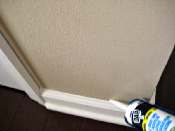 trim caulking tube