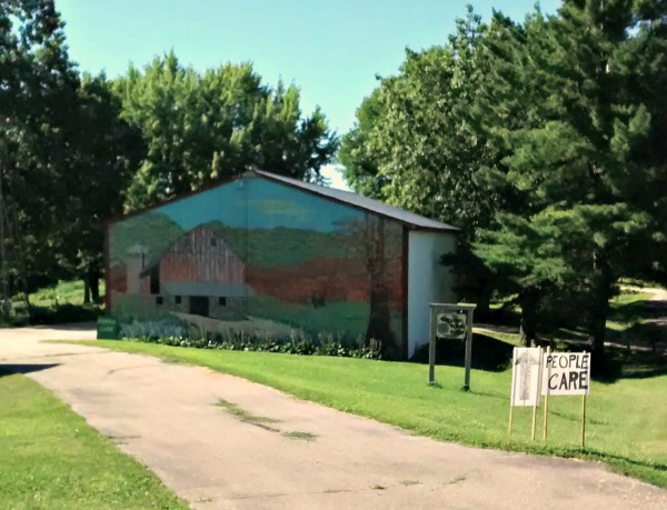 people care building, WI Permaculture Convergence