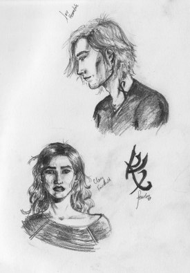Clary and Jace from City of Bones, no referrences