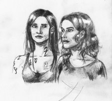 Isabelle and Clary from City of Bones, no referrences