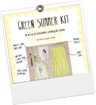 Green Summer Kit - Ekyog - JulieFromParis