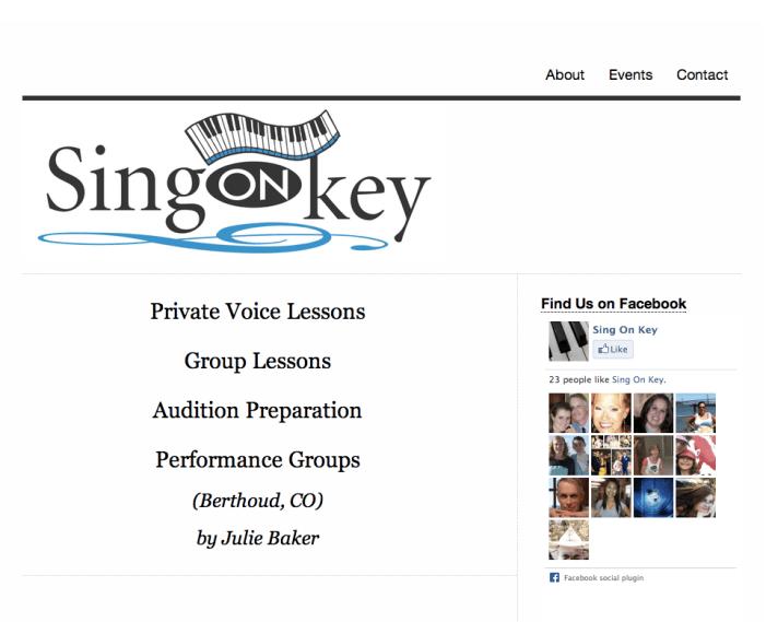 Sing On Key Website