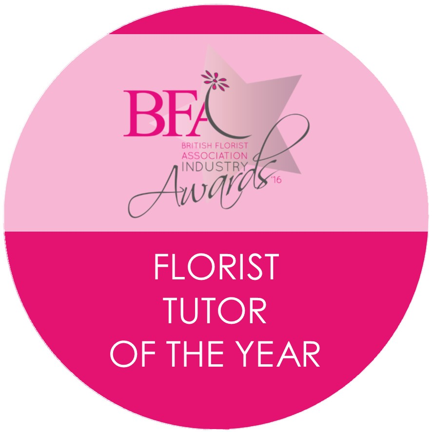 Florist Tutor of the Year 2016