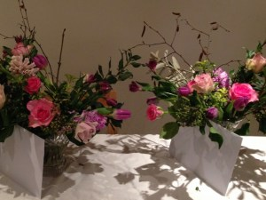 Flower arranging party