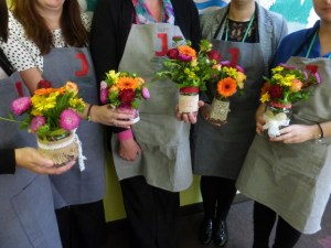 Wellbeing and flowers
