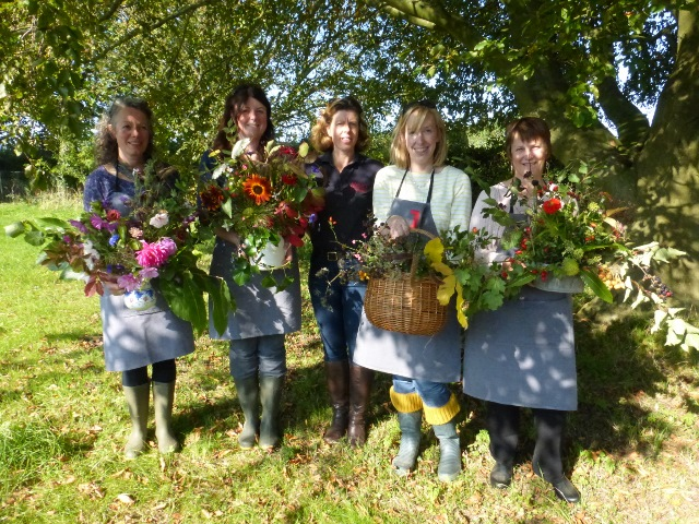 Flower arranging workshops in Kent with Anna's Country Flowers