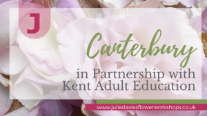 Floristry classes Kent Adult Education