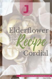 DIY Elderflower Cordial