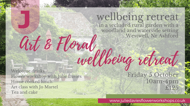 Art and Floral wellbeing retreat