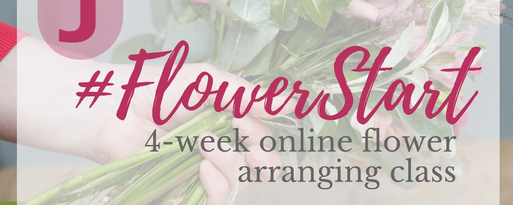 online flower arranging class