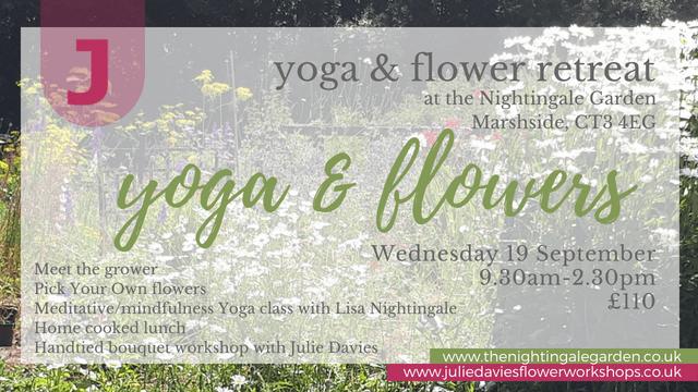 yoga and flower retreat Nightingale Garden