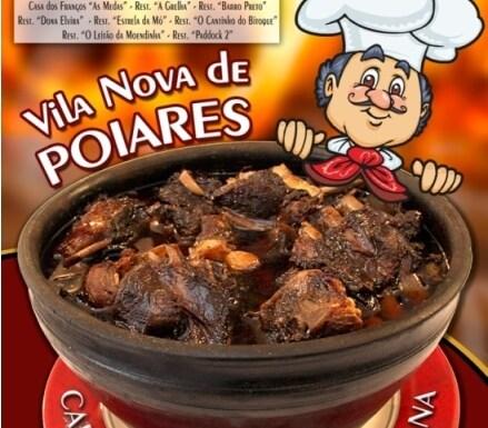 Poster for chanfana week in Vila Nova de Poiares