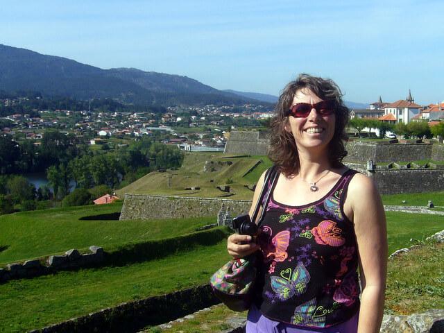 Julie Dawn Fox at Valença, Portugal
