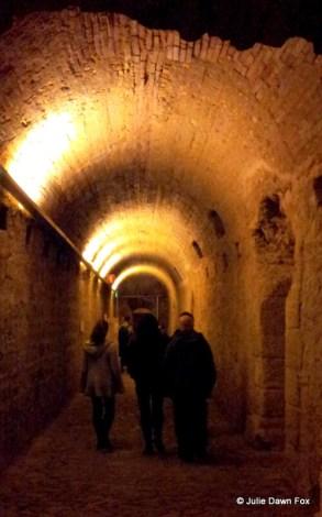 Roman underground city in Coimbra