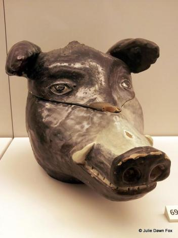 Boar tureen