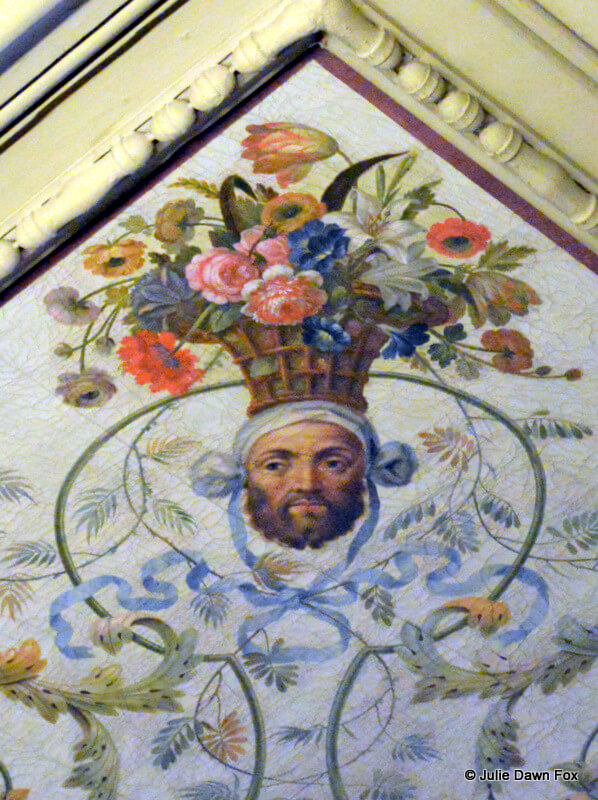 detail, ceiling, National Coach Museum, Portugal