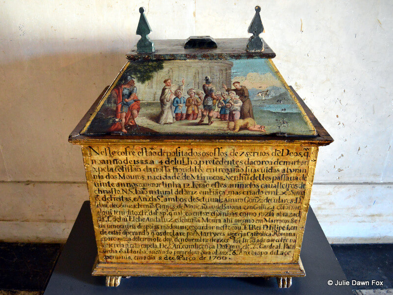 16th century reliquary chest