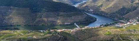 View from Casal de Loivos, Douro Valley, Portugal