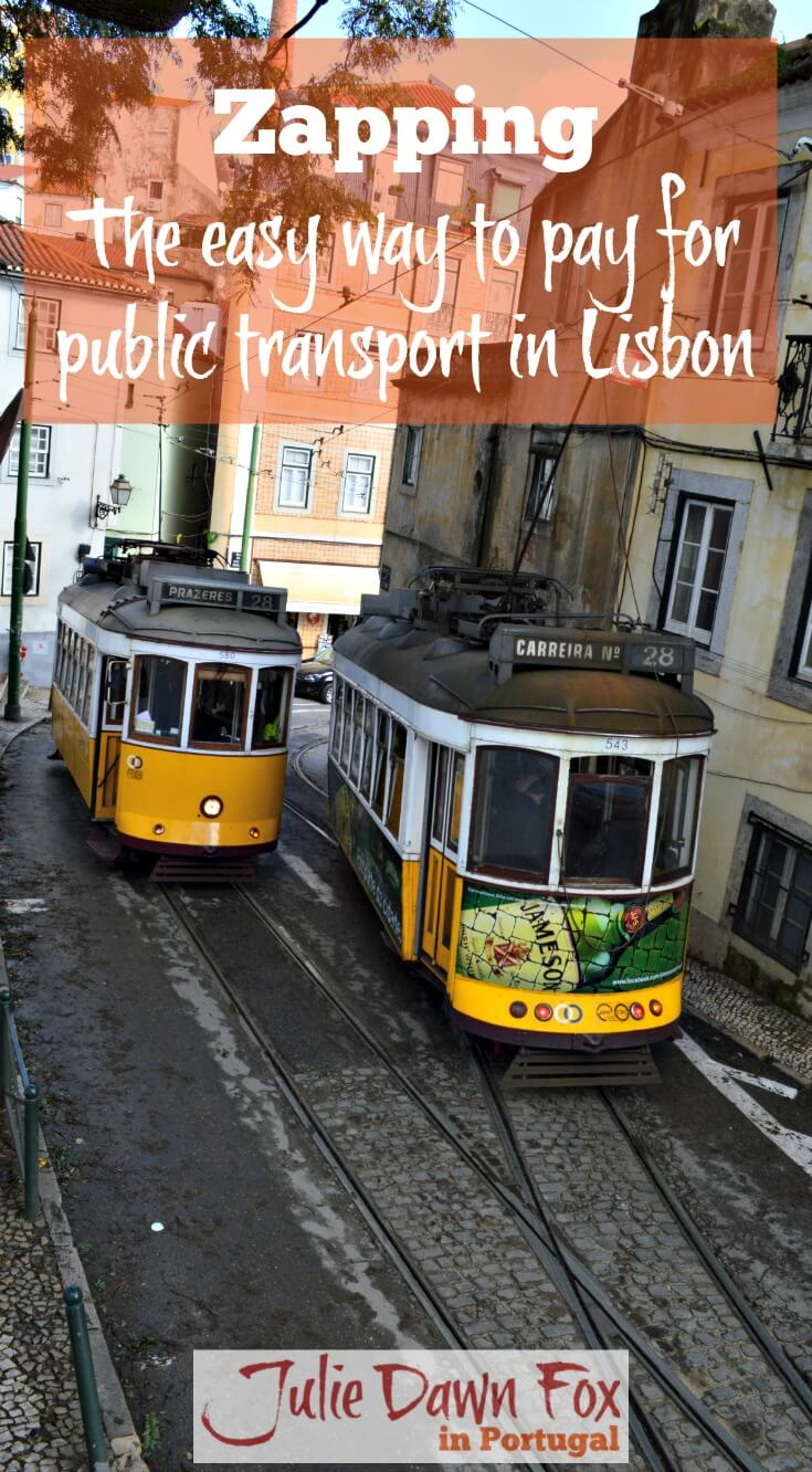 Zapping, The Best Way Of Paying For Public Transport In Lisbon