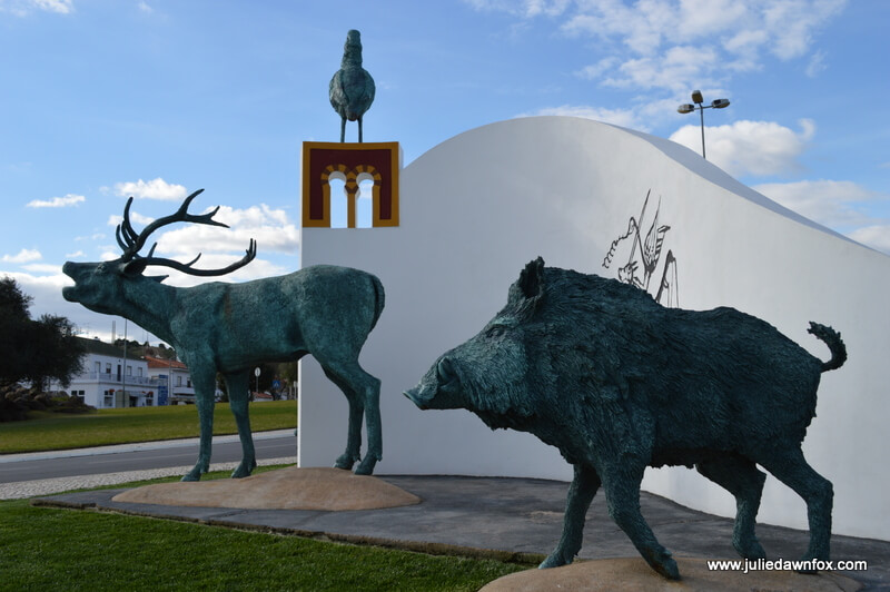 Hunting monument, Mértola