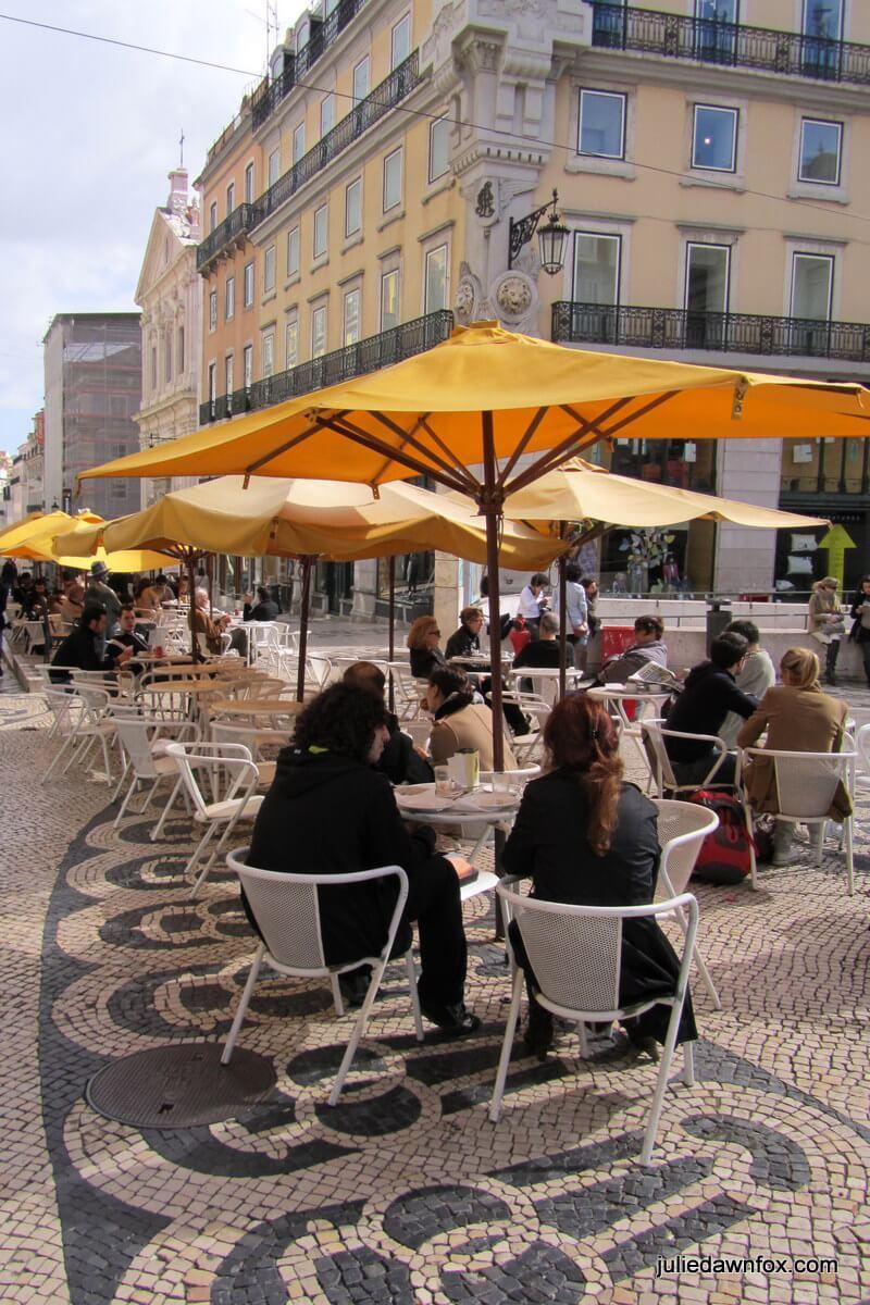 A Brasileira café, Largo do Chiado, Lisbon